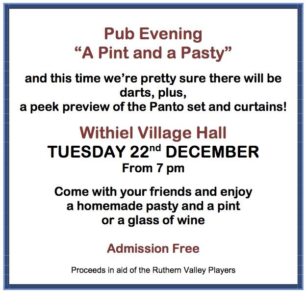 Pre-view Pub Evening 22 Dec